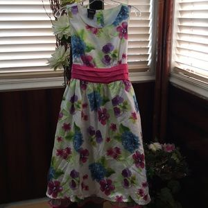 Other - Floral spring dress, Large (10/12)